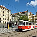 Les transports urbains à <b>Prague</b>