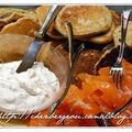 Et si tu faisais l'apéro ? part 3 : saumon mariné et blini au sarrasin