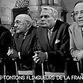 Les tontons flingueurs de la France! d'après Georges Lautner et Michel Audiard.