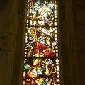 Vitrail de la Chapelle d'Amboise