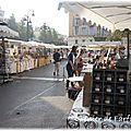 637 - un joli marché artisanal de fin de saison...