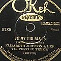 Elizabeth <b>Johnson</b> - Be My Kid Blues & Sobbin' Woman Blues