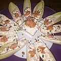 Barquette de saumon au mascarpone
