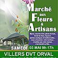 Marché aux Fleurs et Artisanal 2014