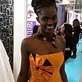Salon du mariage porte de versailles, les robes de tatiana bévis