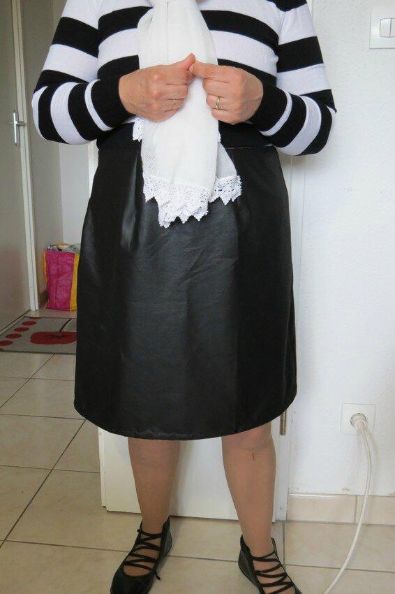 jupe noire mathilde