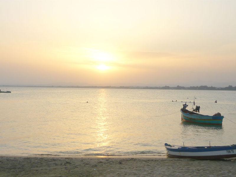 Le coucher de soleil du mardi 9 septembre 2008