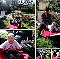 On aime bien le jardin de mamie!