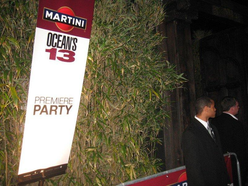 Festival Cannes 2007 Ocean Martini