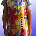 Pele mele de robes et jupe pour ma fille