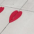 L'art en palabres de février : la saint valentin - la version romantique, et puis l'autre …