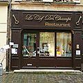 La Clef des Champs <b>Charleville</b>-<b>Mézières</b> Ardennes devanture restaurant