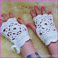 The serial crocheteuses n°239 : des mitaines au crochet