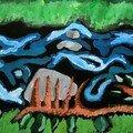 Dimitri Paysage coloré enfant