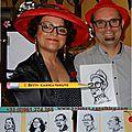 Caricaturiste à dijon - zénith, gala d'infirmières et d'infirmiers 2016 - seniors