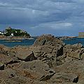 GR34 sur la rive ouest de la baie de <b>Morlaix</b>