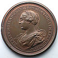 <b>Médaille</b> de Thierry II (revers) par Ferdinand de Saint-Urbain (1727-1731)