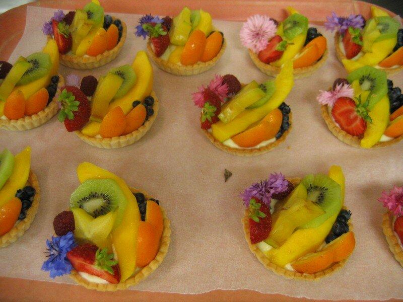 Tartelettes jardinières