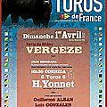 TOUJOURS LES ANTIS... solidarité avec l'Aficion de <b>Vergèze</b>
