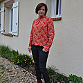 Blouse marjolaine, slow sunday paris, so chic
