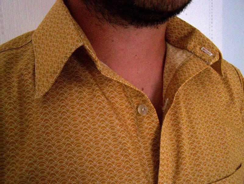 Chemise jaune (8)