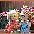 <b>Emmy</b> et Marylin au jardin
