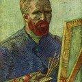 Van Gogh - Autoportrait 11 - 1888