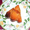 Gateau caramélisé aux abricots