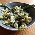 Salade asparagus