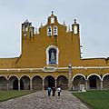 En pays maya - Yucatan et Hautes Terres (7/24). Le couvent d'Izamal.
