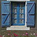 Fenêtre bleu