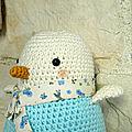 Du crochet : Suzette la petite mouette