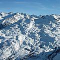 Valloire, vue sur Valmeinier (73)