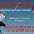 Bressuire Highland Games: throwers, pipers....and dancers