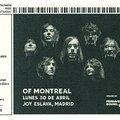 <b>Of</b> <b>Montreal</b> - Lundi 30 Avril 2012 - Joy Eslava (Madrid)