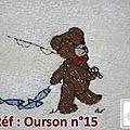 Réf : OURSONS n°15