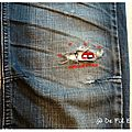 Un peu de reprisage sur un jeans troué! +++ tuto