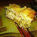 Lasagne au saumon et poireau