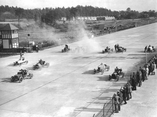 1900s brooklands relay race