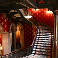 Grand staircase Hotel St Pancras