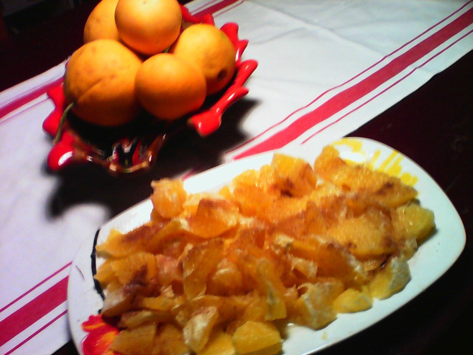 Les Mercredis gourmands à l'orange.