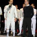 J.F di Martino et Ludovic Lefebvre (psychologue de P'tit Dom)