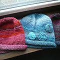 Des petits bonnets de toutes les couleurs