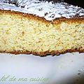 Gâteau muesli chocolat blanc