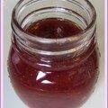 Confiture fraises-rhubarbe à la vanille