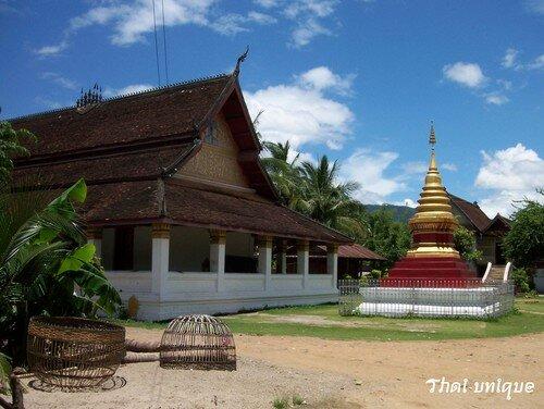 Un wat à Luang Prabang