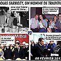 A paraitre dans le figaro magazine : nicolas sarkozy, un homme de traditions