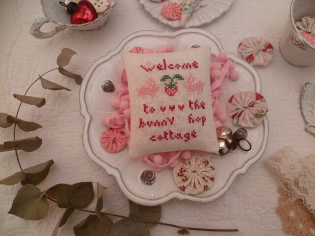 Welcome to the Bunny Hop Cottage Pattern US $ 7.00