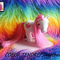 (034) G1 les 7 copains / My Little Pony Tales, Seven characters