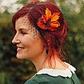 Les Pinces pour vos cheveux aux couleurs de l'Automne